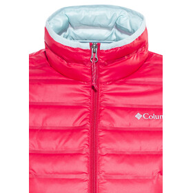 Columbia Flash Forward Down Jacket Women Red Camellia/Spray